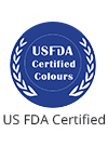US FDA Certified Colours